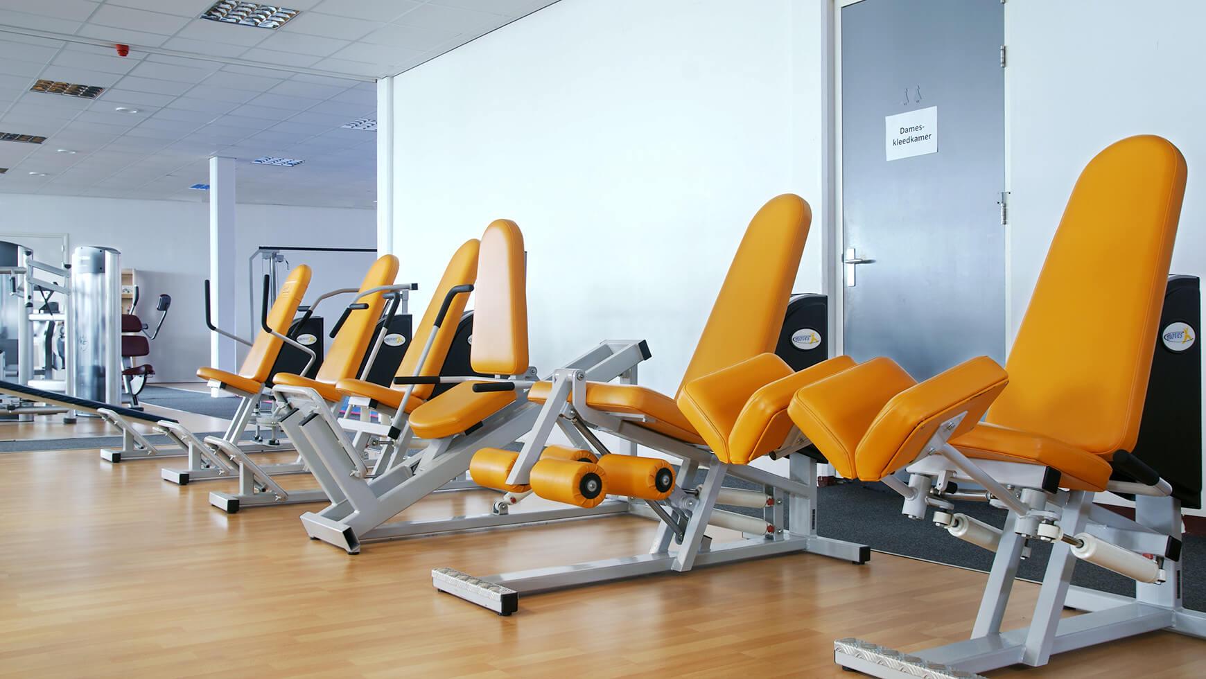 Fitnesstoestellen Sportcentrum Bfit