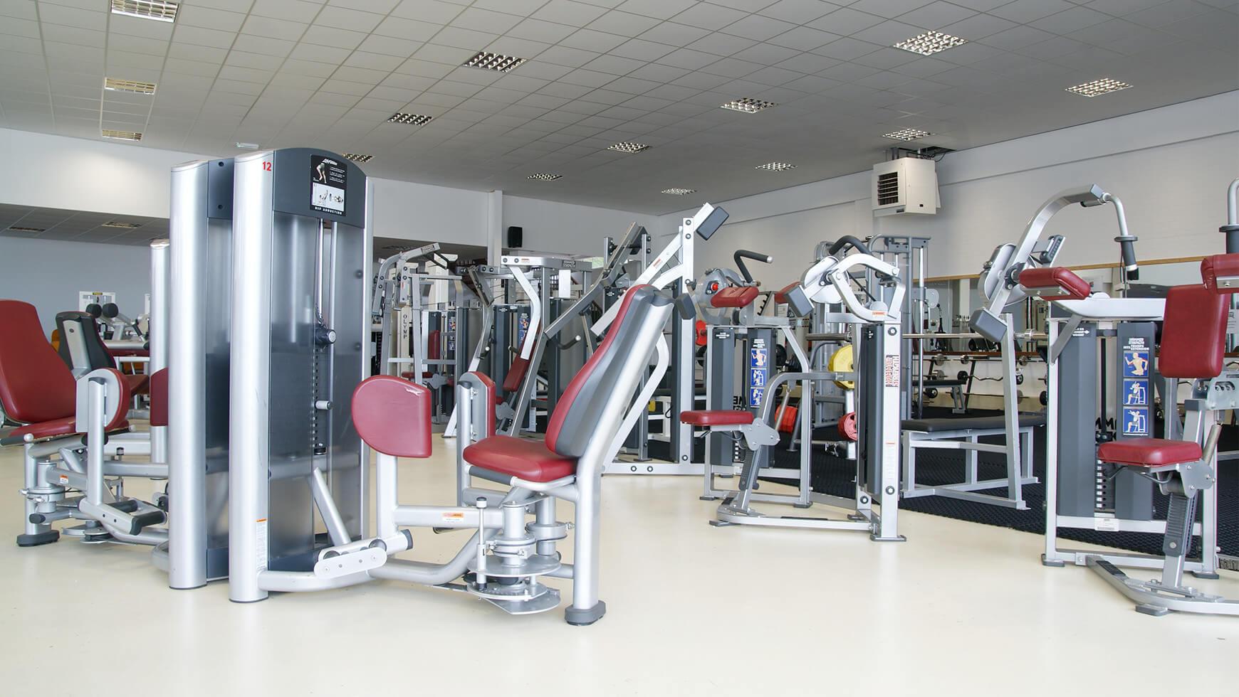 Fitnessruimte Sportcentrum Bfit