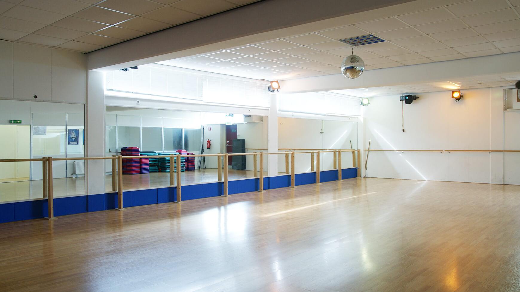 Aerobic zaal sportcentrum Bfit